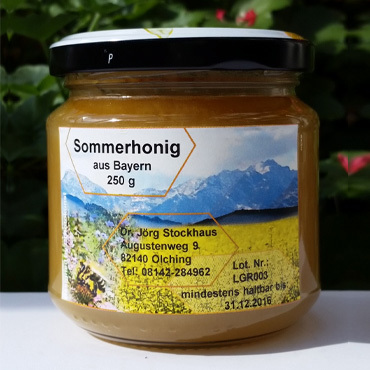 Productthumb 250g sommerhonig